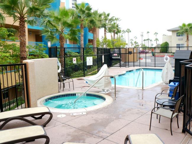 Holiday Inn pool area
