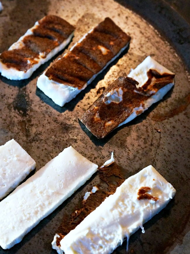 how to grill Mexican cheese