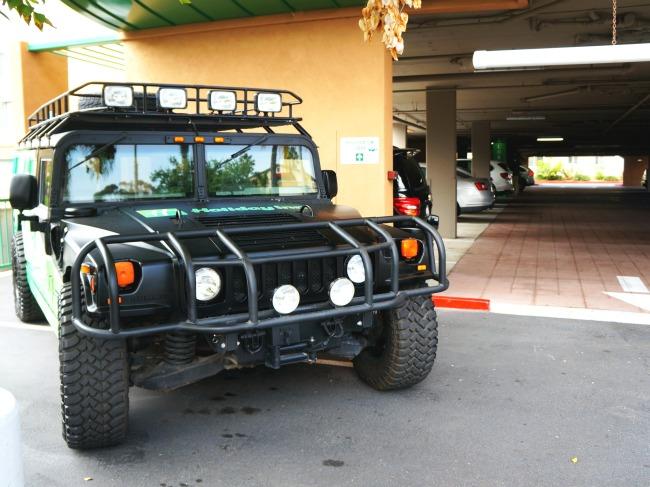 Holiday Inn Oceanside Hummer