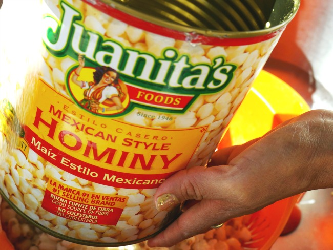 Juanitas mexican style hominy