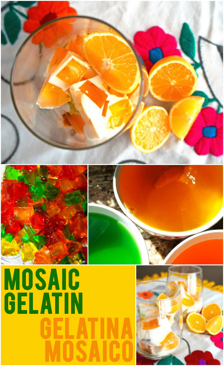 How to make Mosaic Gelatin: como hacer gelatina mosaico