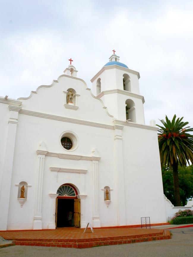 Mission San Luis Rey in Oceanside