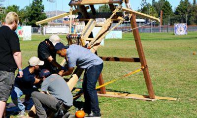 Pumpkin Launch event in Orange County