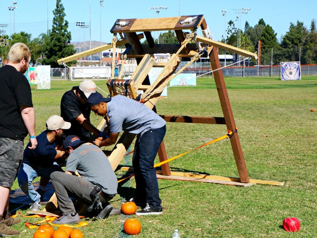Pumpkin Launch event in Orange County