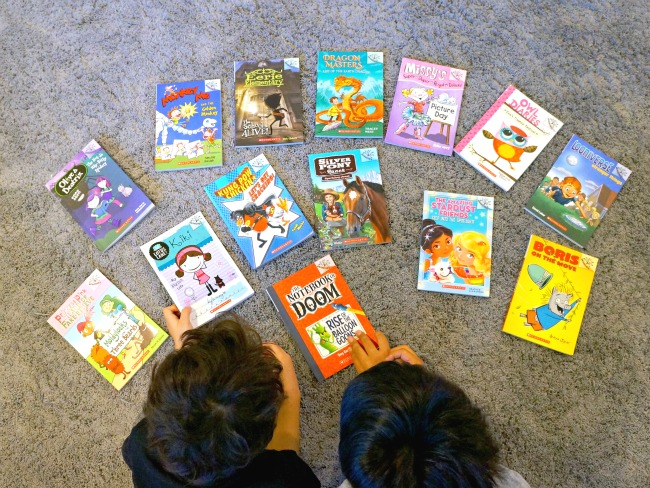 Scholastic Branches series