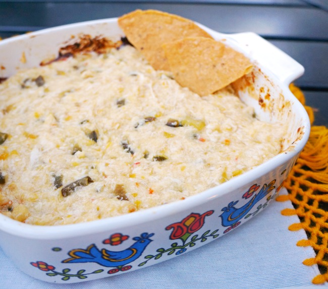 sweet spicy queso fundido recipe