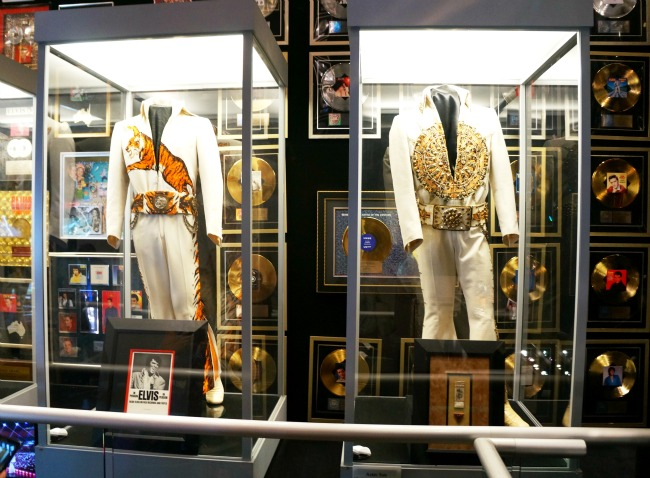 Racquetball building displays jumpsuits and memorabilia