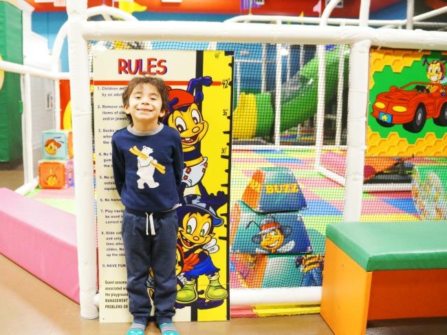 Billy Beez height requirement // LivingMiVidaLoca.com