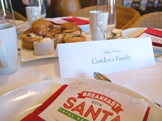 Breakfast with Santa at Catal Restaurant in Anaheim, CA // LivingMiVidaLoca.com