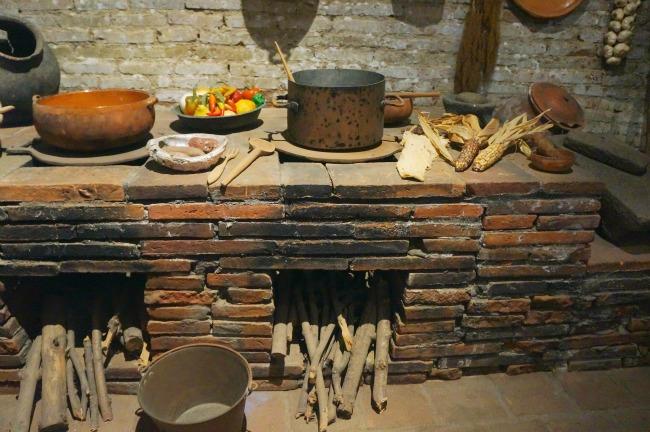 brick-stove-in-kitchen