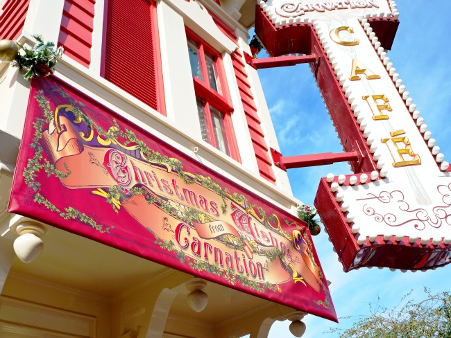 Carnation Cafe at Disneyland // LivingMiVidaLoca.com