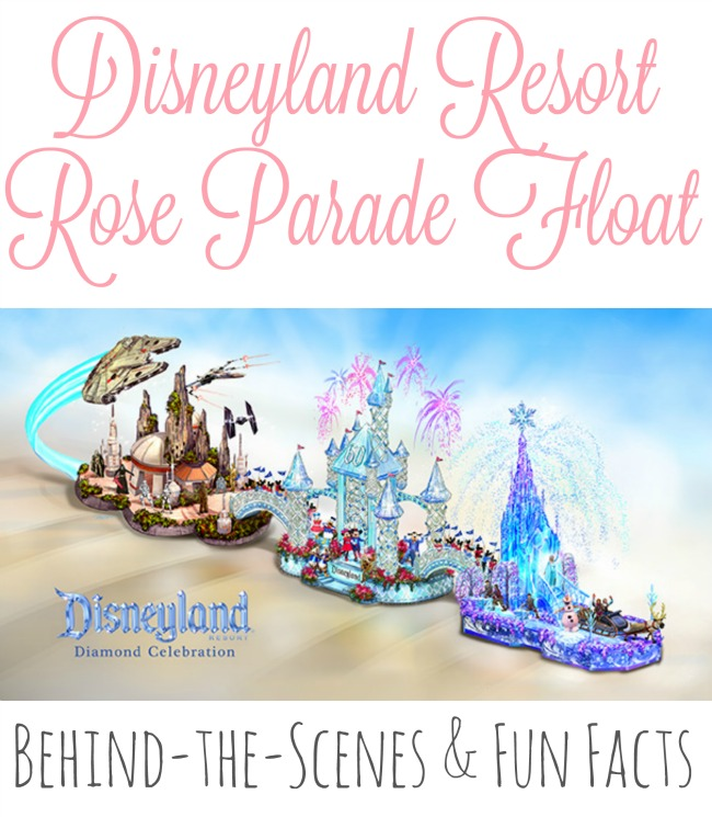 Disneyland Resort Rose Parade Float fun facts // livingmividaloca.com
