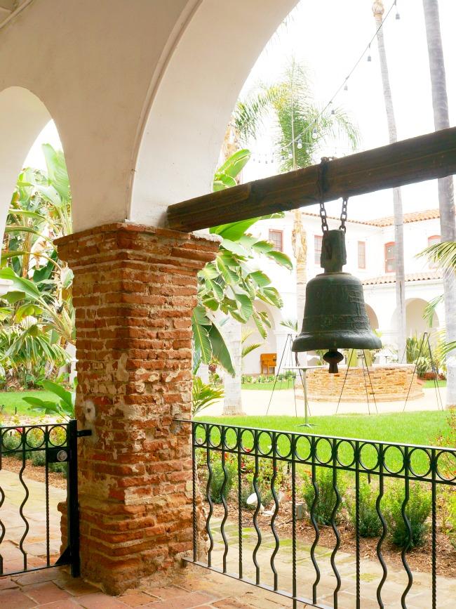 Courtyard at Mission San Luis Rey