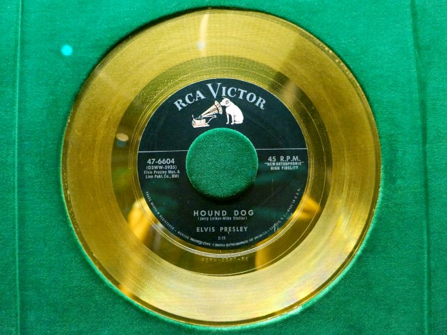 Hound dog gold record