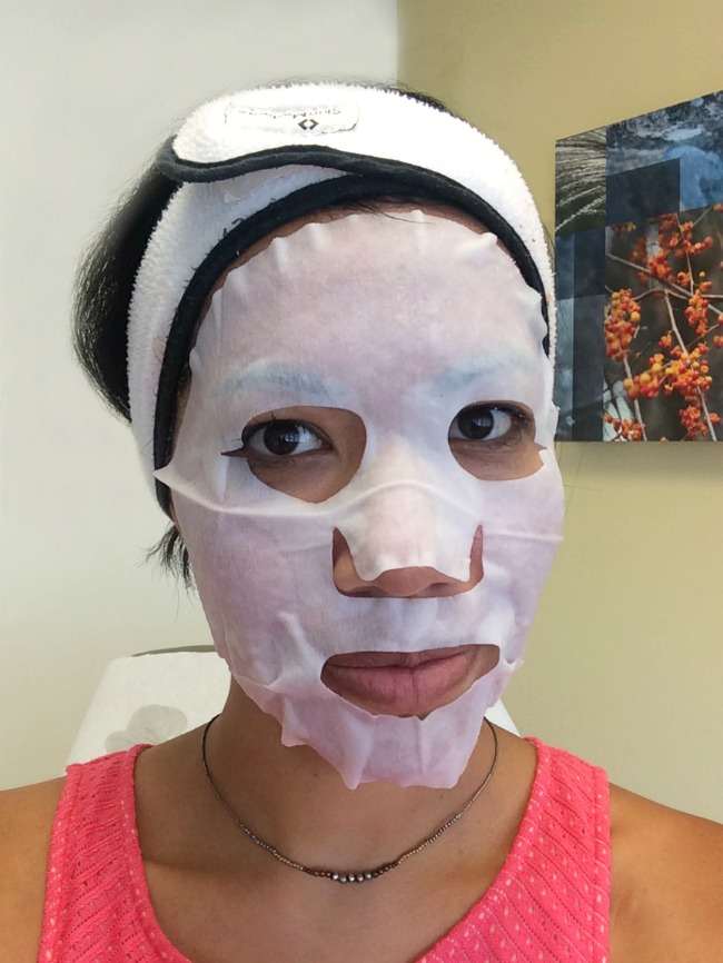 hydrating mask after Dermapen // livingmividaloca.com