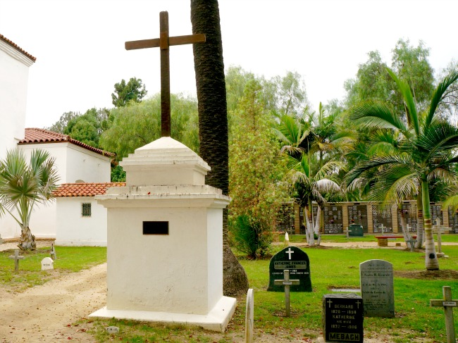 Indian monument featured in the oldest cemetery in North County