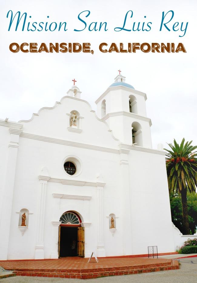 Mission San Luis Rey in Oceanside, California