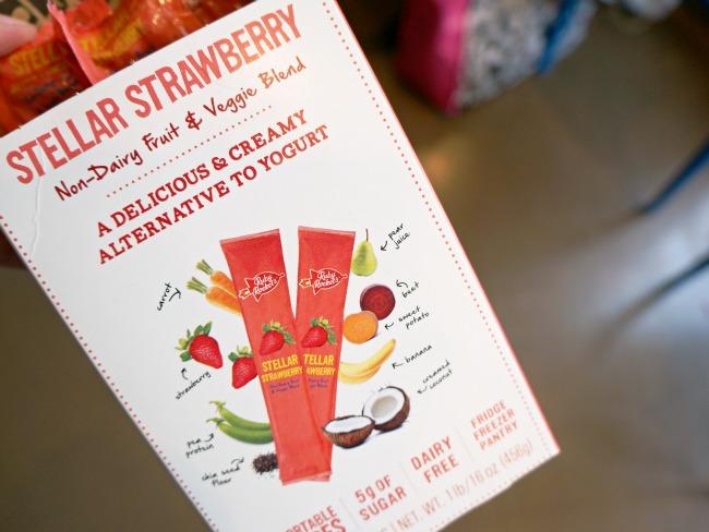 Non-dairy Fruit and Veggie blend yogurt // LivingMiVidaLoca.com