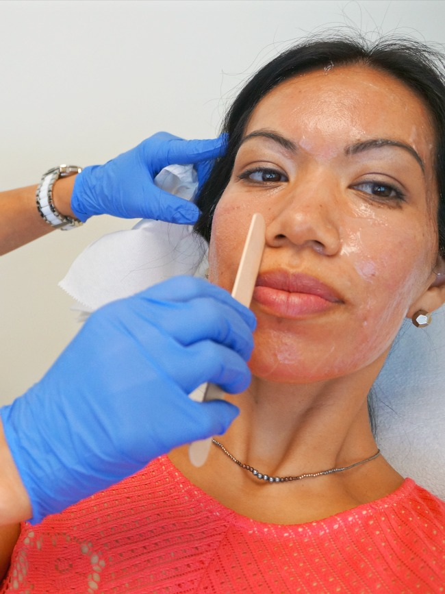 Removing face numbing cream / livingmividaloca.com