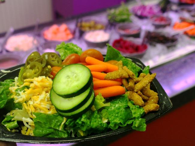 Salad // livingmividaloca.com