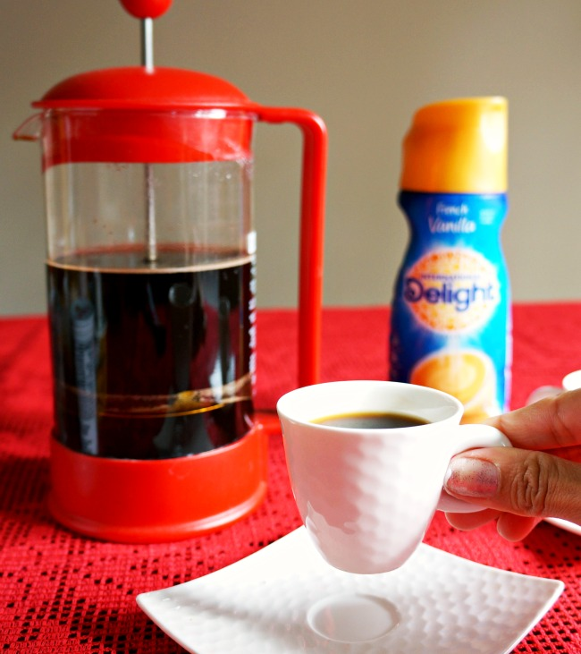 coffee in expresso cup