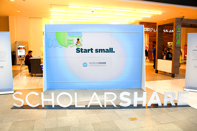 ScholarShare Westfield Mall // Open a 529 College Savings Account // livingmividaloca.com