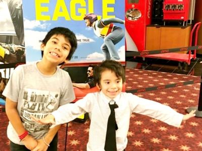 Eddie the Eagle movie review // livingmividaloca.com