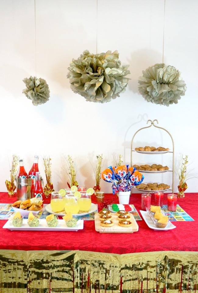 epoca de pro fiesta // awards viewing party // livingmividaloca.com