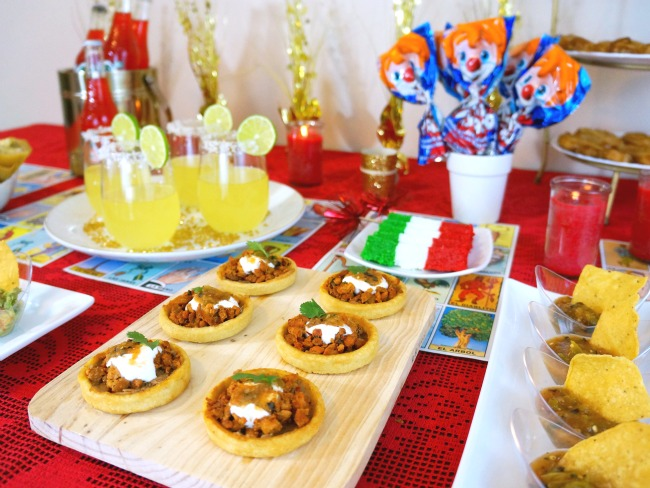 Mexican food appetizers // awards viewing party // livingmividaloca.com