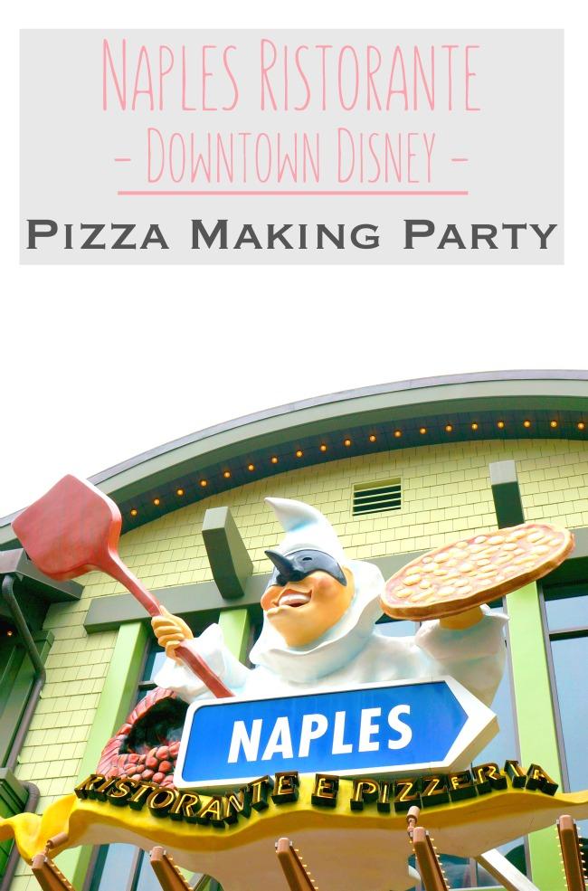 Naples Ristorante at Downtown Disney // Pizza Party at Downtown Disney // LivingMiVidaLoca.com