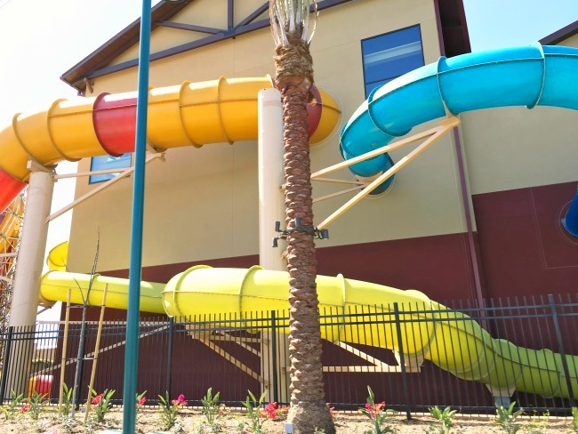 Alberta Falls at Great Wolf Lodge in Southern California // Great Wolf Lodge // LivingMiVidaLoca.com