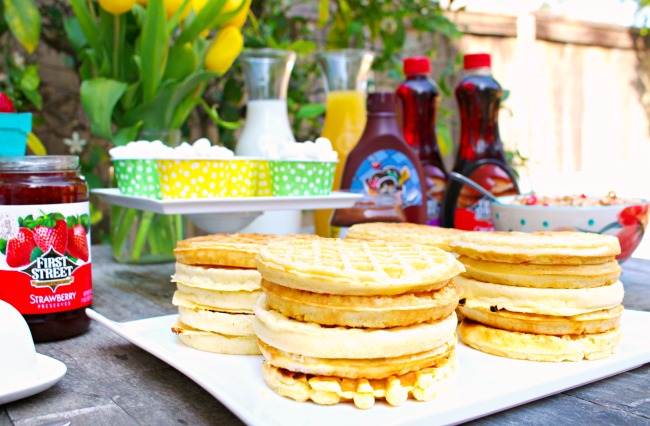 waffle // waffle bar idea // livingmividaloca.com