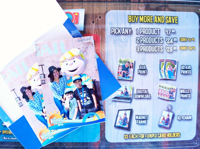 FunPix photo products // FunPix at Knott's Berry Farm // LivingMiVidaLoca.com