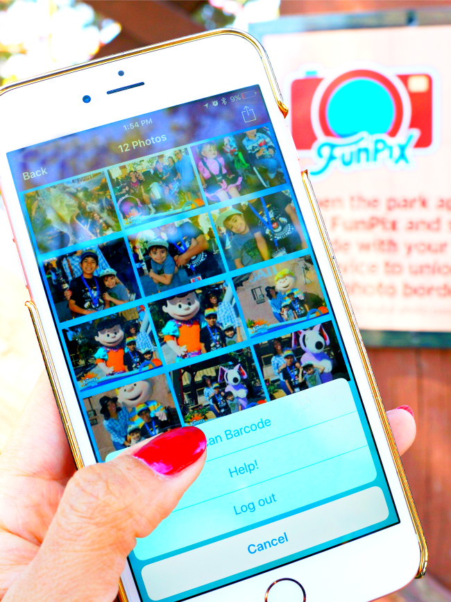 How much does FunPix card cost // FunPix at Knott's Berry Farm // LivingMiVidaLoca.com