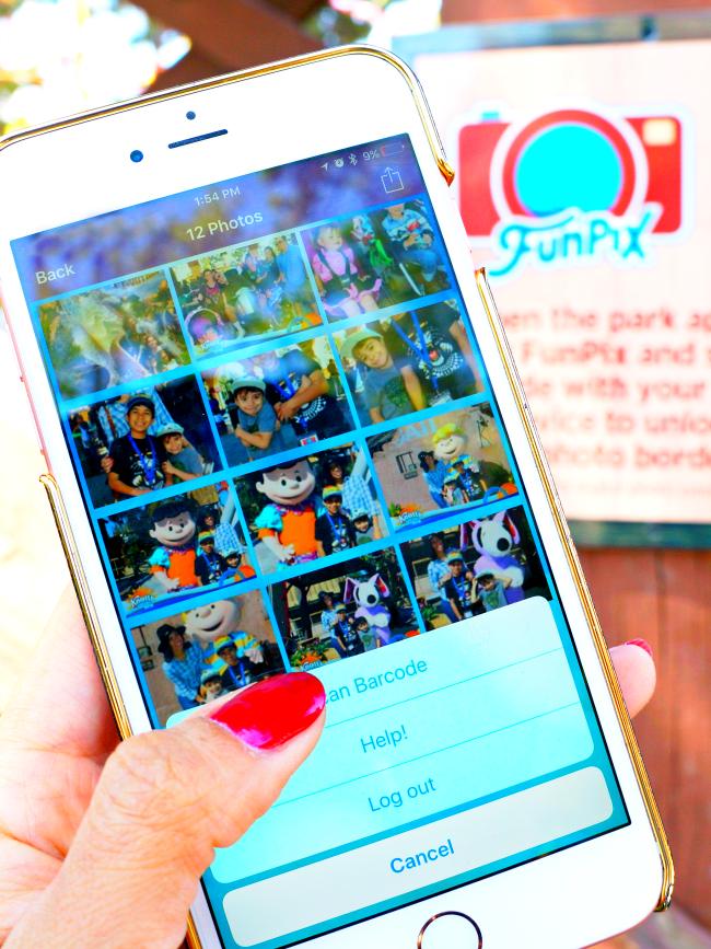 How much does FunPix card cost // FunPix at Knott's Berry Farm // LivingMiVidaLoca.com