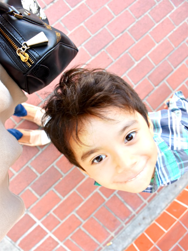 Mother son dates // Afternoon dates with my preschooler // LivingMiVidaLoca.com