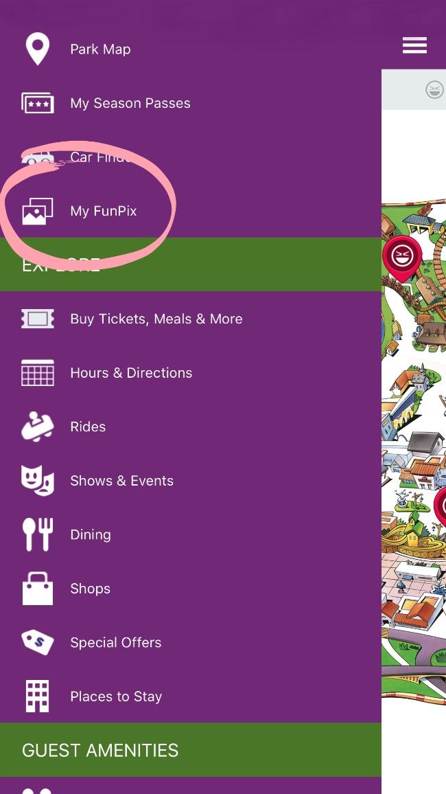 My FunPix on the Knott's app // FunPix at Knott's Berry Farm // LivingMiVidaLoca.com