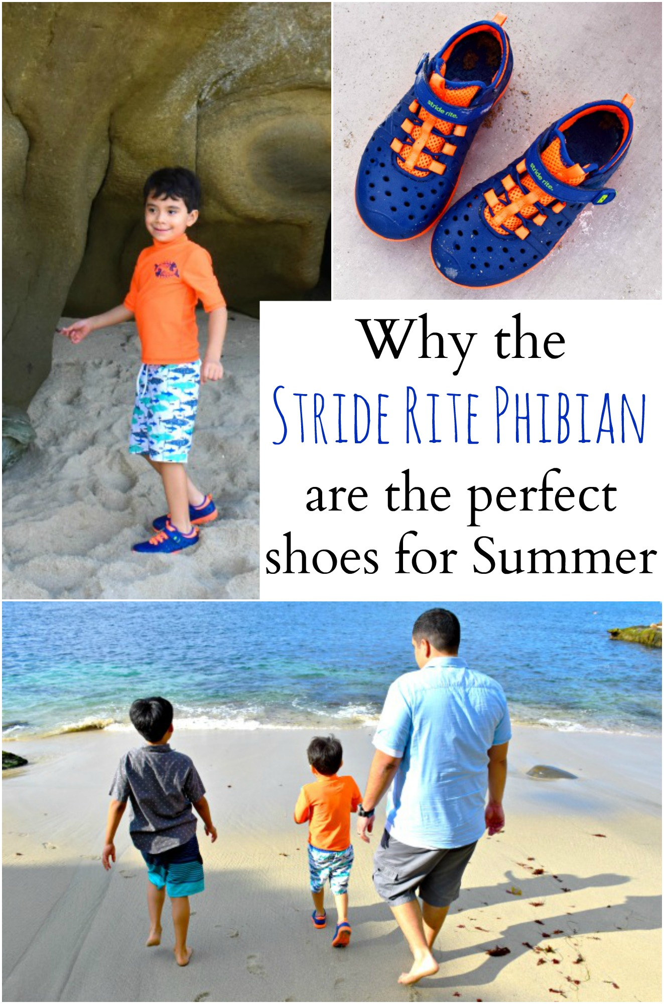 Why the Stride Rite Phibian are the perfect shoes for Summer : LivingMiVidaLoca.com