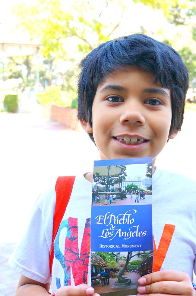 El Pueblo de Los Angeles historical map - Placita Olvera day trip - Living Mi Vida Loca