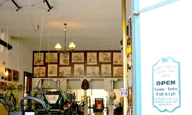 Firehouse No. 1 in Los Angeles - Placita Olvera day trip - Living Mi Vida Loca