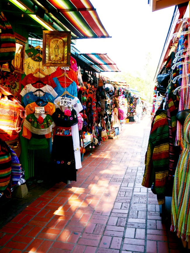 Olvera Street in Los Angeles - Placita Olvera day trip - Living Mi Vida Loca (photo credit: Pattie Cordova)