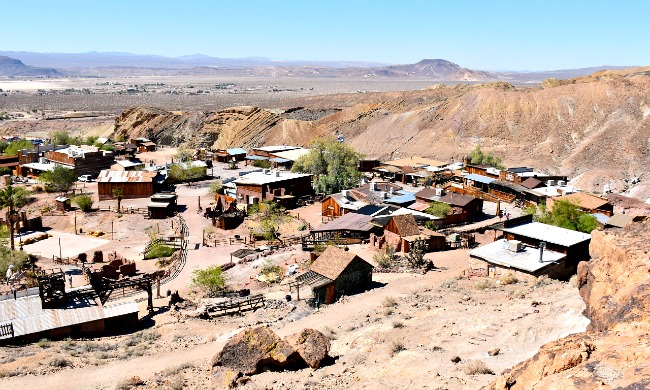 Calico Ghost Town overview - Calico Ghost Town - Living Mi Vida Loca