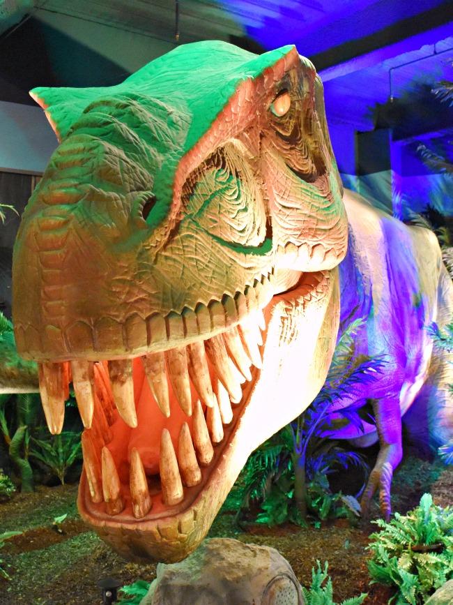Extreme Dinosaurs exhibit at Discovery Cube - LivingMiVidaLoca.com
