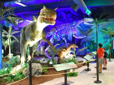 Extreme Dinosaurs exhibit ticket info at Discovery Cube - LivingMiVidaLoca.com (photo credit: Pattie Cordova)