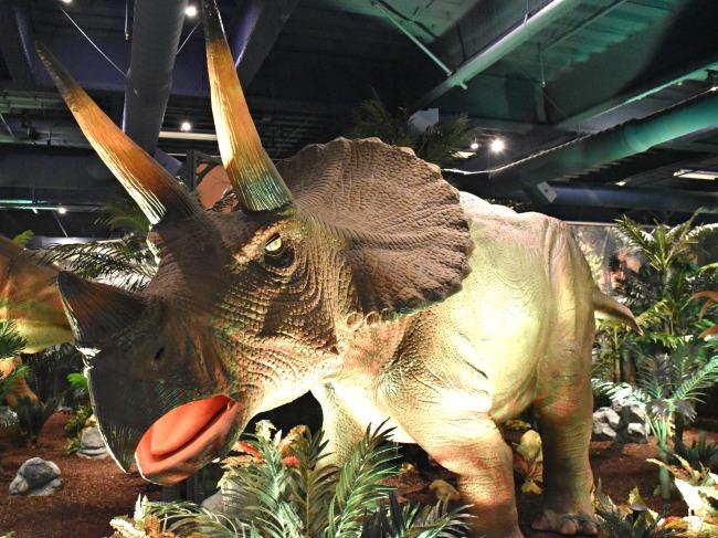 Extreme Dinosaurs opening at Discovery Cube - LivingMiVidaLoca.com (photo credit: Pattie Cordova)