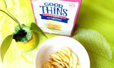 Good Thins taste delicious! LivingMiVidaLoca.com