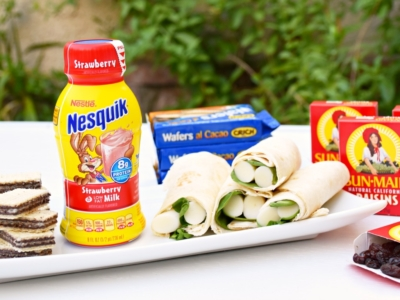 Nesquik Strawberry Milk for lunch boxes