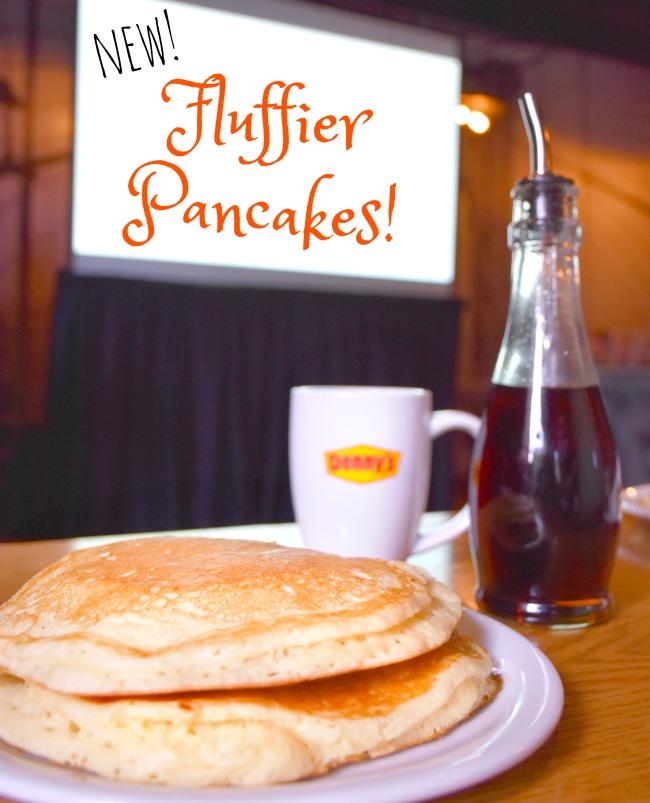 New buttermilk pancakes at Denny's Diner - LivingMiVidaLoca.com