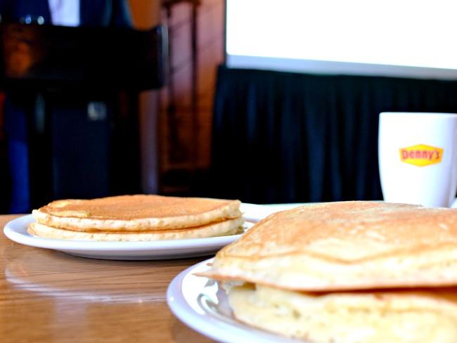 Old Denny's Diner pancakes - LivingMiVidaLoca.com