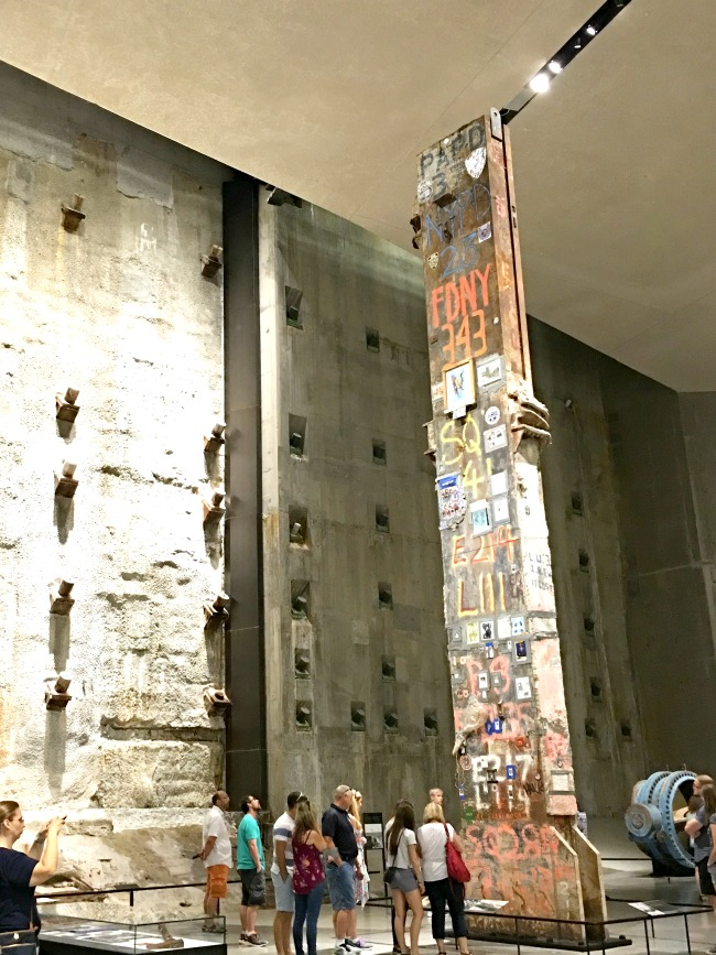 The Last Column at 9/11 Memorial Museum - LivingMiVidaLoca.com